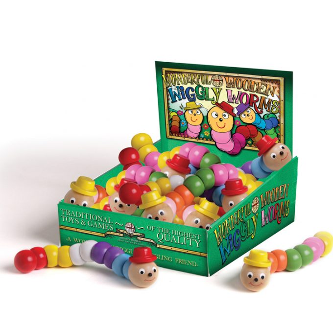 Wonderful Wiggly Worms Counter Display (14 pcs)