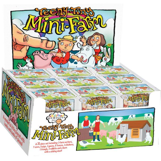 Mini Farm Counter Display (24 pcs)